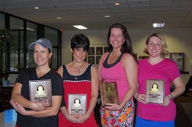 2009 The Bob 7.5 Women's on left Finalists Carolyn Ebbinghaus & Faith Gavaldon on right Winners Laura Kemp & Amber Gunderman