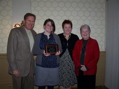 2007 Jr. Female Sportsmanship Award Winner
