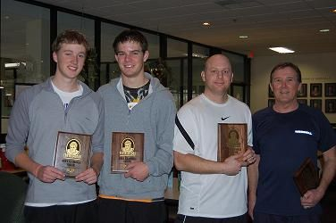 2009 The Bob 8.5 Men's on left Finalist Spencer Powell & Dougles Burke on right Winners Scott David & Dennis Murray