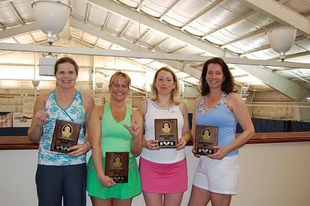 2010 BOB 7.5 Women's Winners - Jean Bishop & Denise Burke and Finalist Amber Gunderman & Laura Kemp