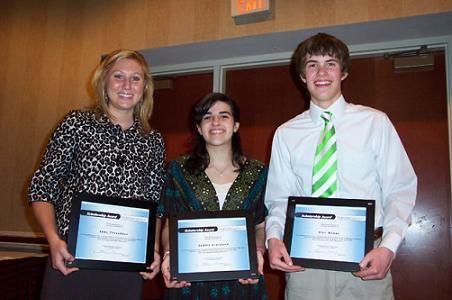 Abby Tresedder, Ashley Giordano and Alec Kenny
