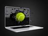 TennisBallComputerBust