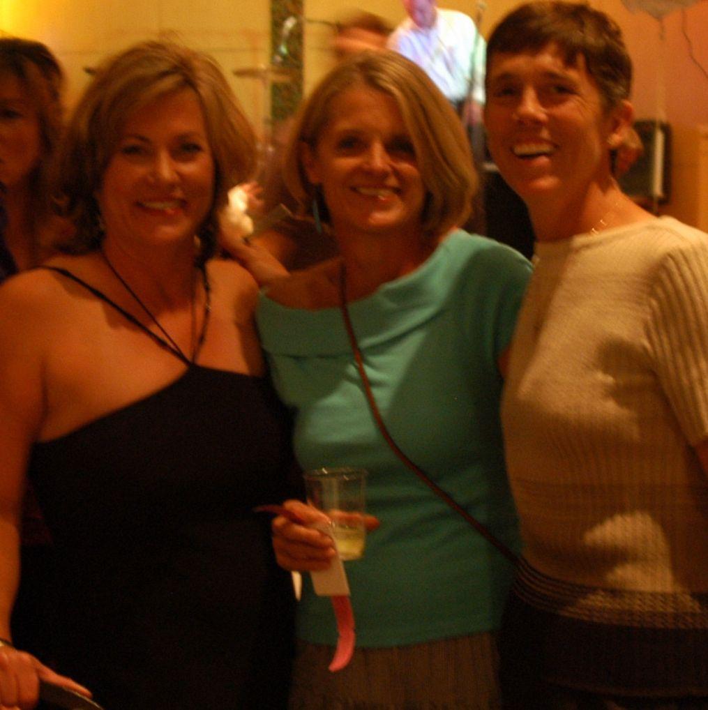 Ingrid Gorham, Sue Jollensten, and Molly McGrath