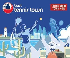 Best Tennis Town Graphic