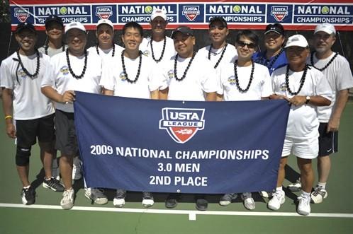 2009 3.0 Adult Men Nationals 2nd Place