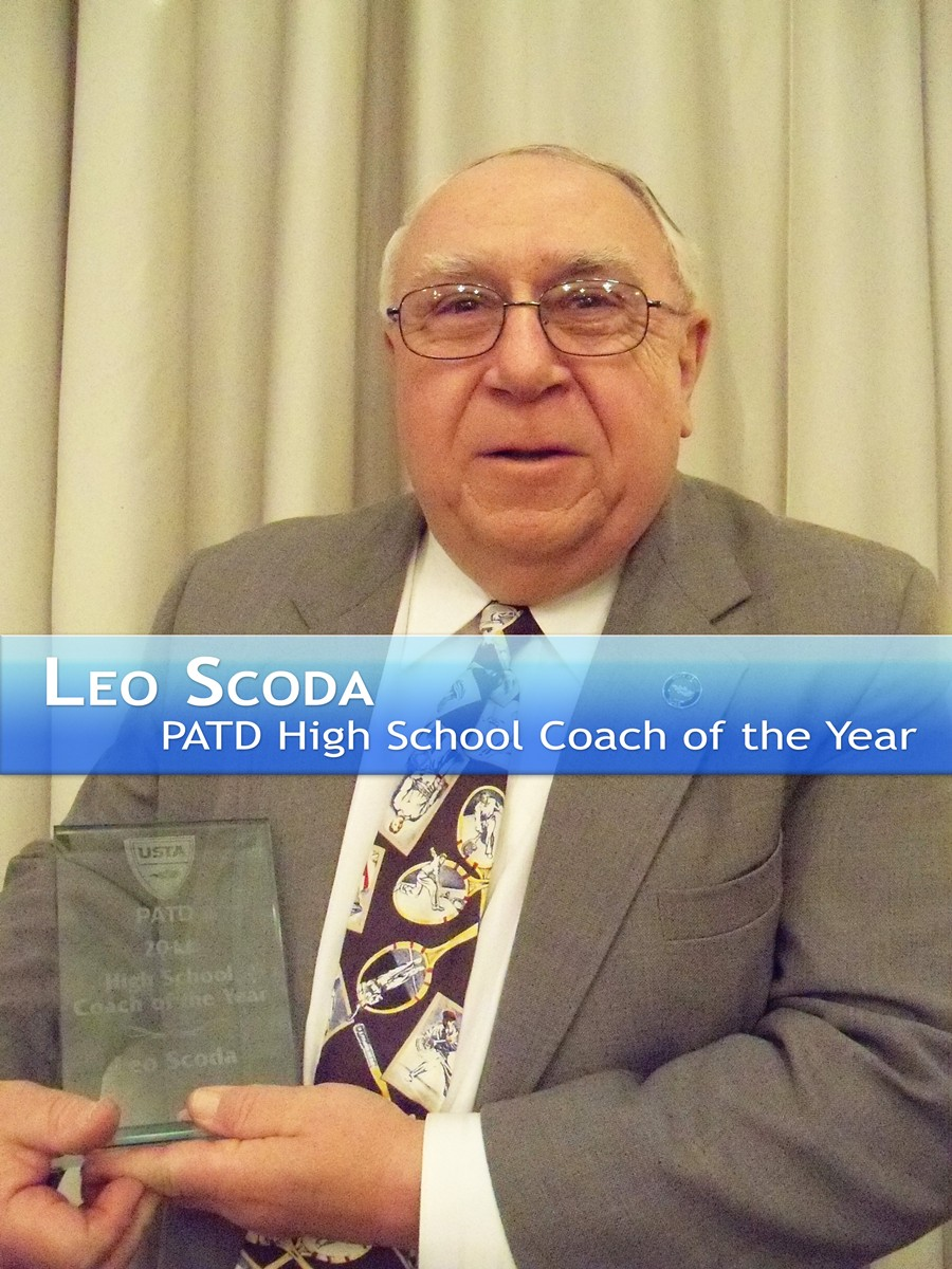 Leo Scoda PATD HS Coach of the Year