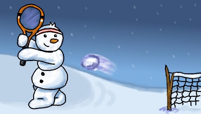 snowmantennis
