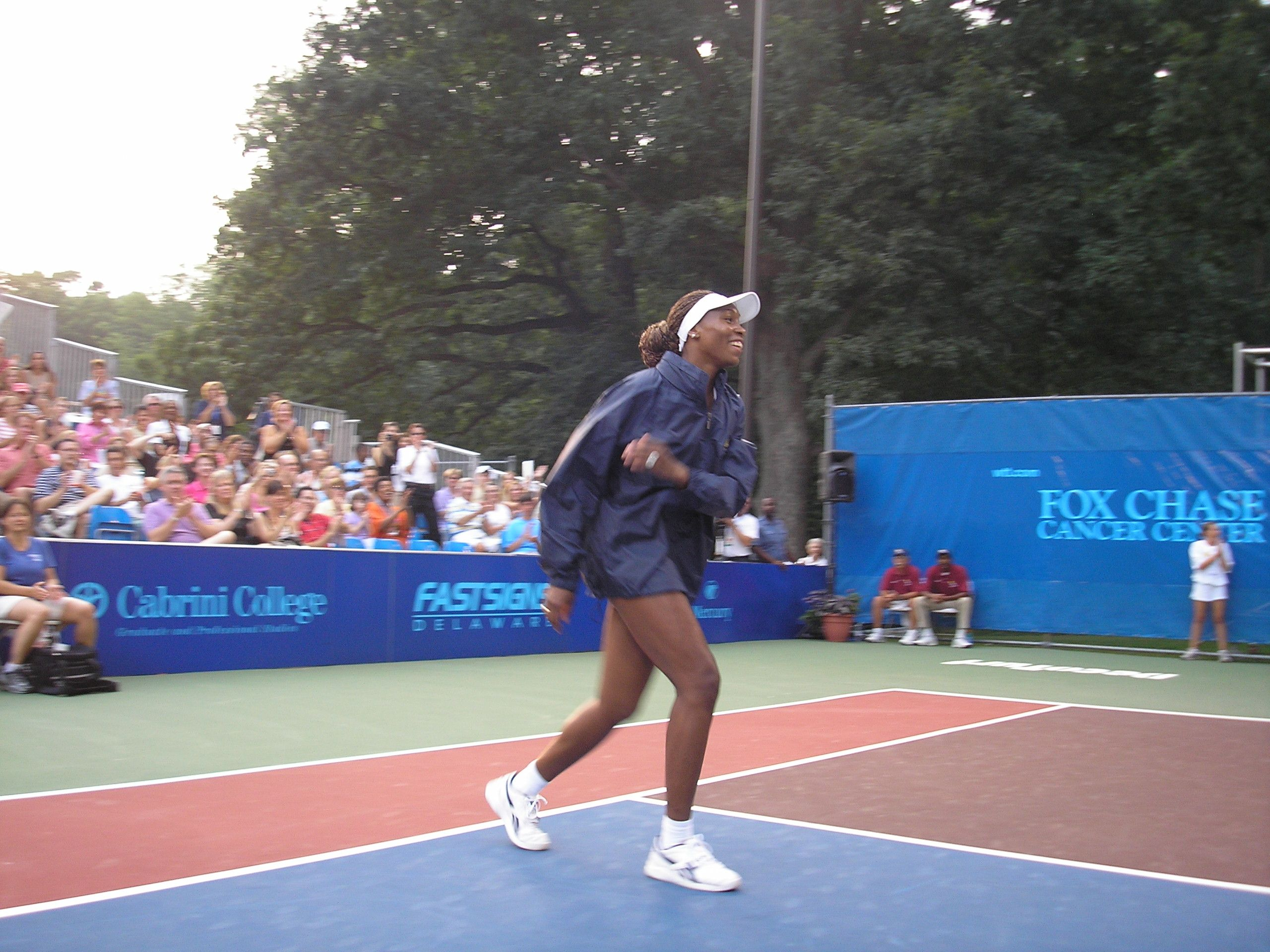Venus Takes Court
