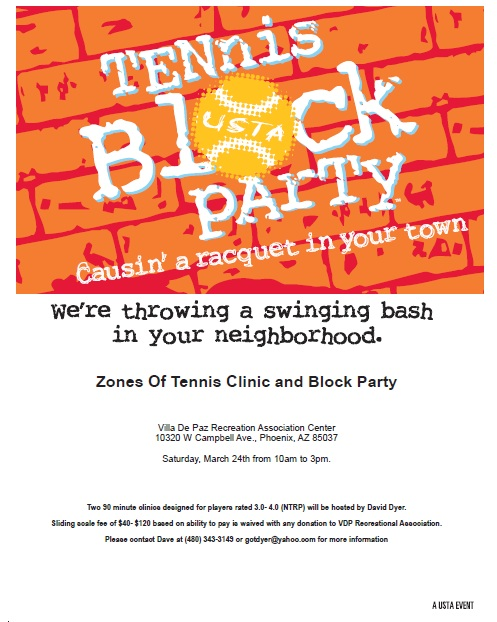 Tennis Block Party 3.24.12