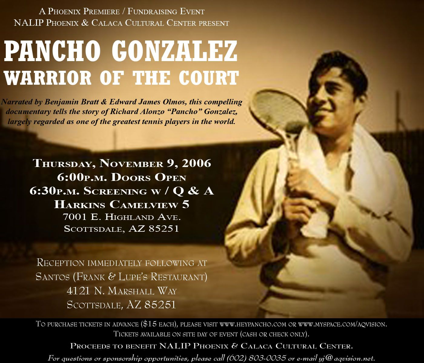 Pancho Gonzalez Phoenix Flyer