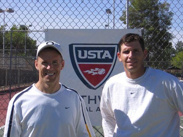 Men's 35 Singles (1) Tim Gaillard d. (2) Sean Leahy 6-1; 6-1