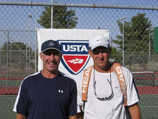 Men's 45 Singles (2) Robert Helmig d. (1) Tom Breece 6-4; 6-4