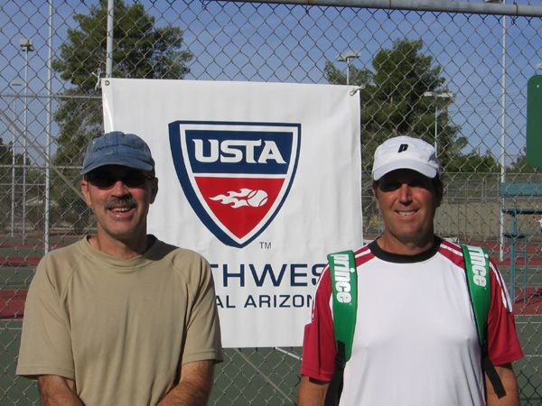 Men's 50 Singles (2) John Witter d. (1) Paul Harbinson 6-1; 6-1