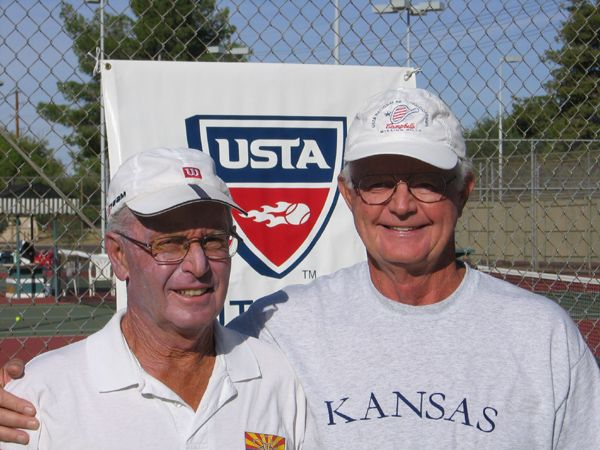 Men's 70 Singles (2) Don Neu d. (1) John James 2-6; 6-2; 6-0