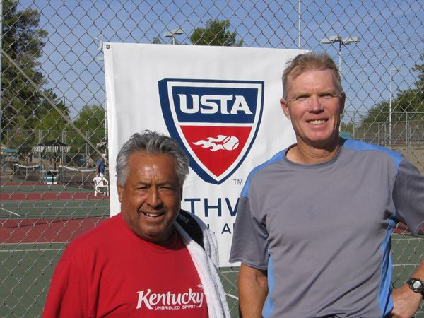 Men's 55 Singles William Young d. Felix Ponte 6-2; 6-1