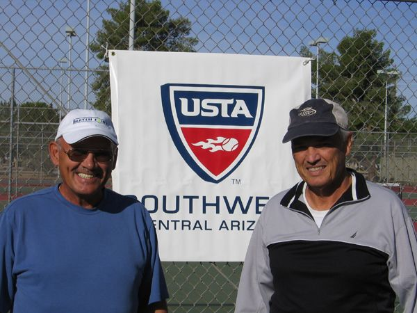 Men's 60 Singles Mike Demarco d. Ted Sondej 6-0; 6-1