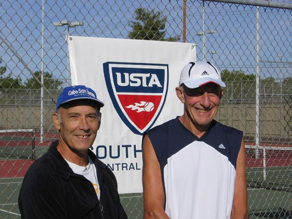 Men's 65 Singles Steve Ludwig d. (2) Austin Mason 7-6(7); 6-2