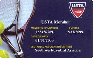 USTA Membership Card 300wa