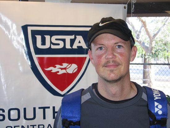 Men's 35 Singles - Bryan Barley d. Sean Leahy 6-2; 6-0