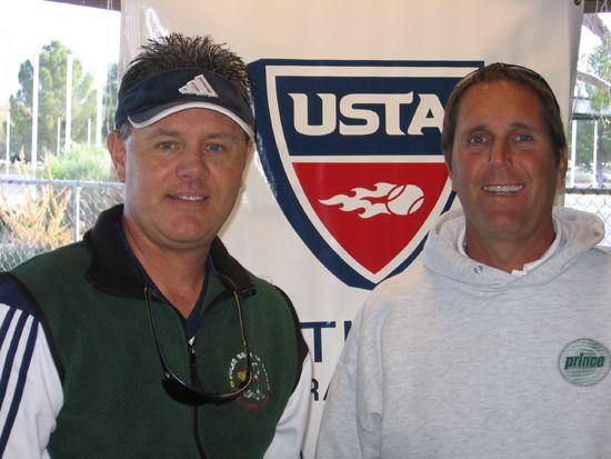 Men's 50 Singles - John Witter d. Robert Florine 6-1; 6-0