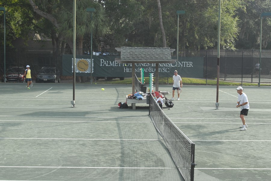 Palmetto Dunes Tennis Center, October 19, 2013.