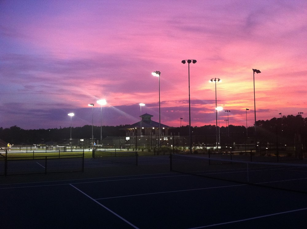 Florence Tennis Center Sunset