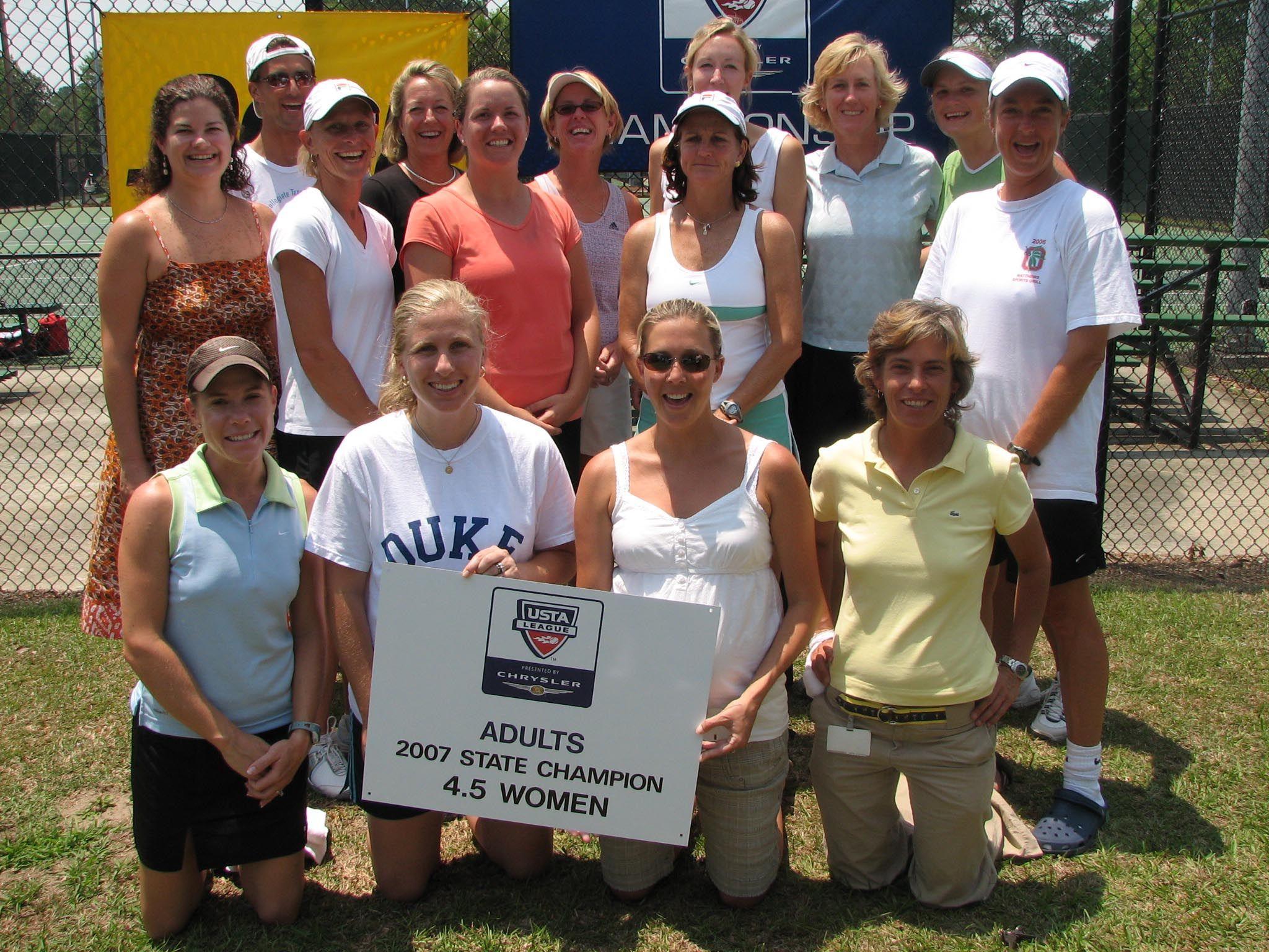 2007 4.5 Adult Women Champs