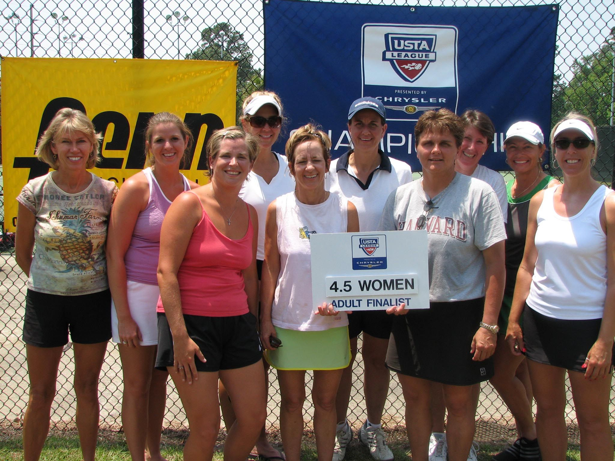 2007 4.5 Adult Women Finalist