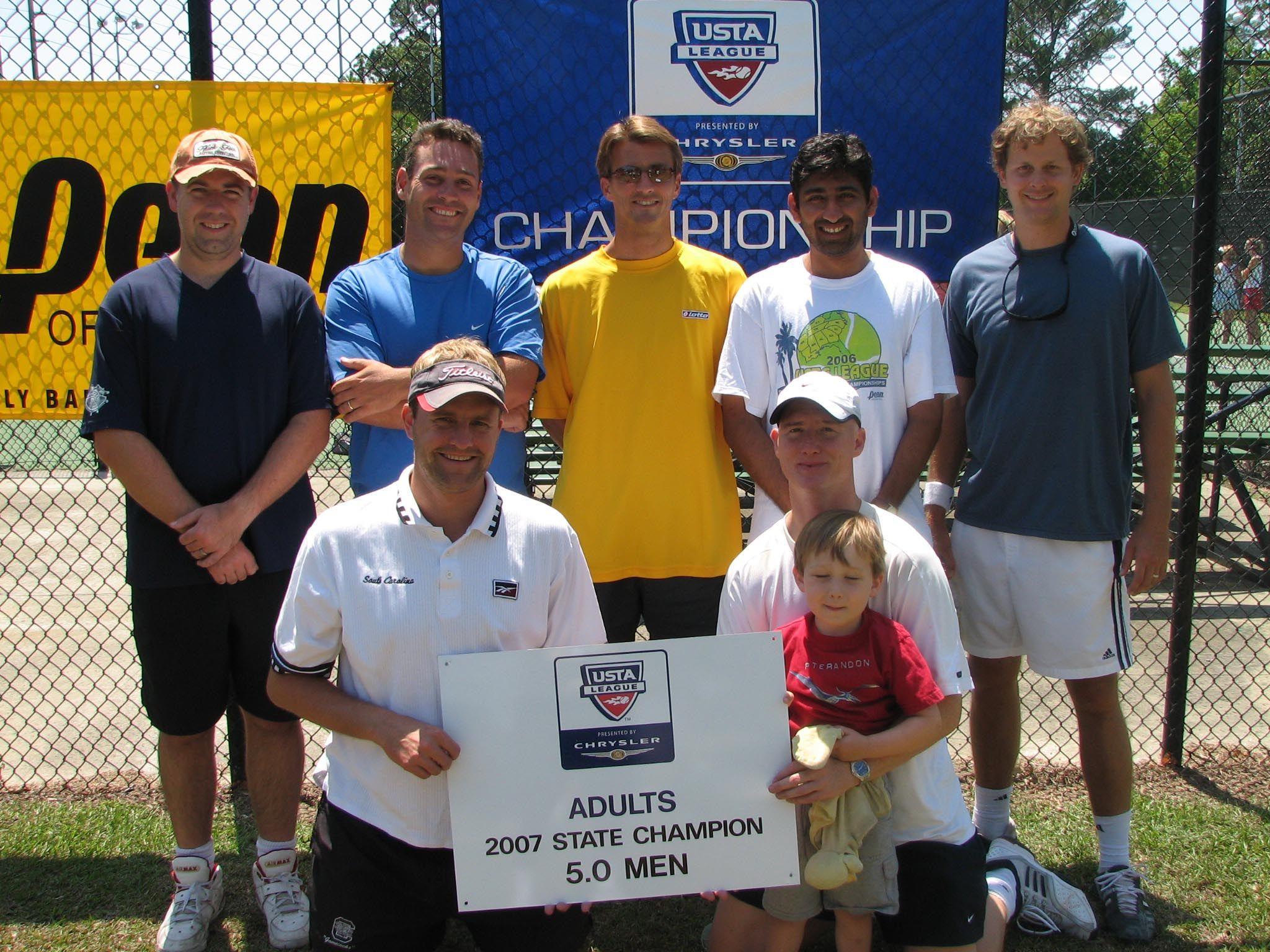 2007 5.0 Adult men Champs