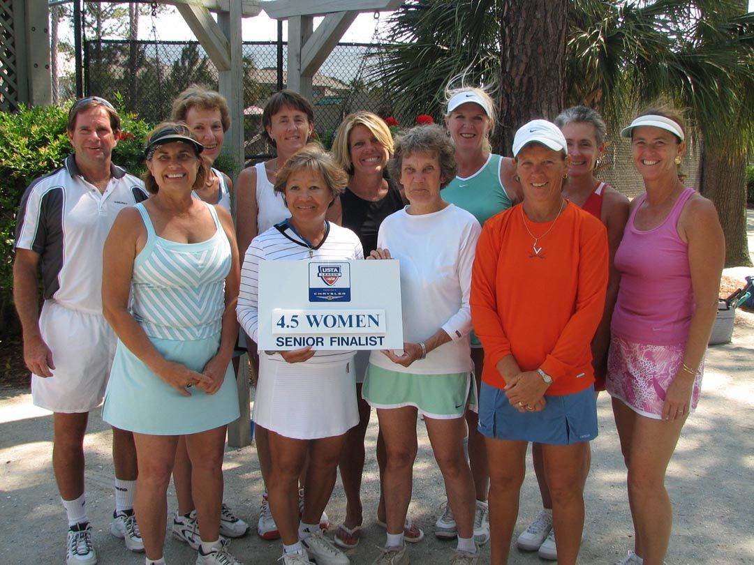 2007 Senior 4.5 Finalist Women
