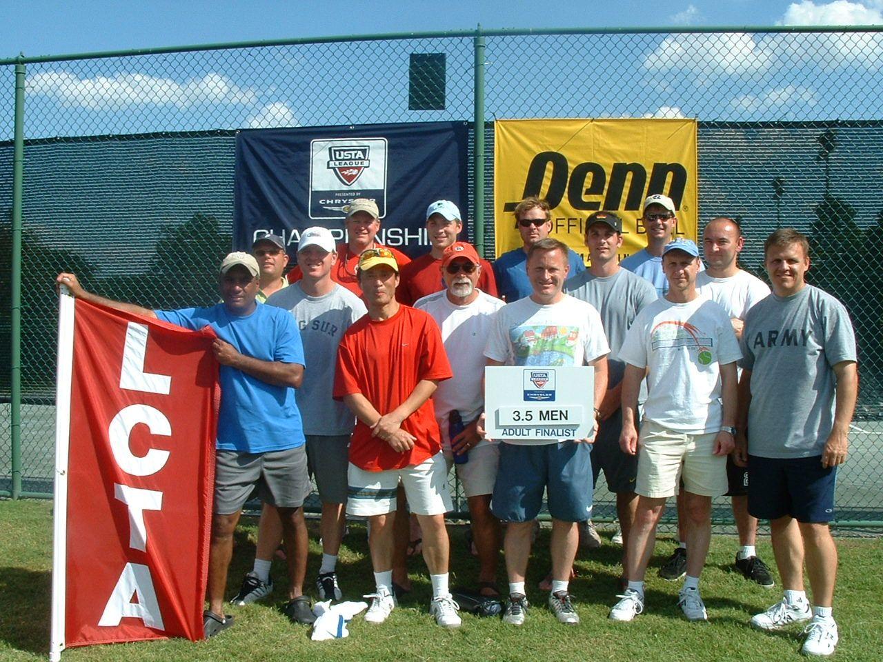 2007 Adult Champs 3.5 M finalist