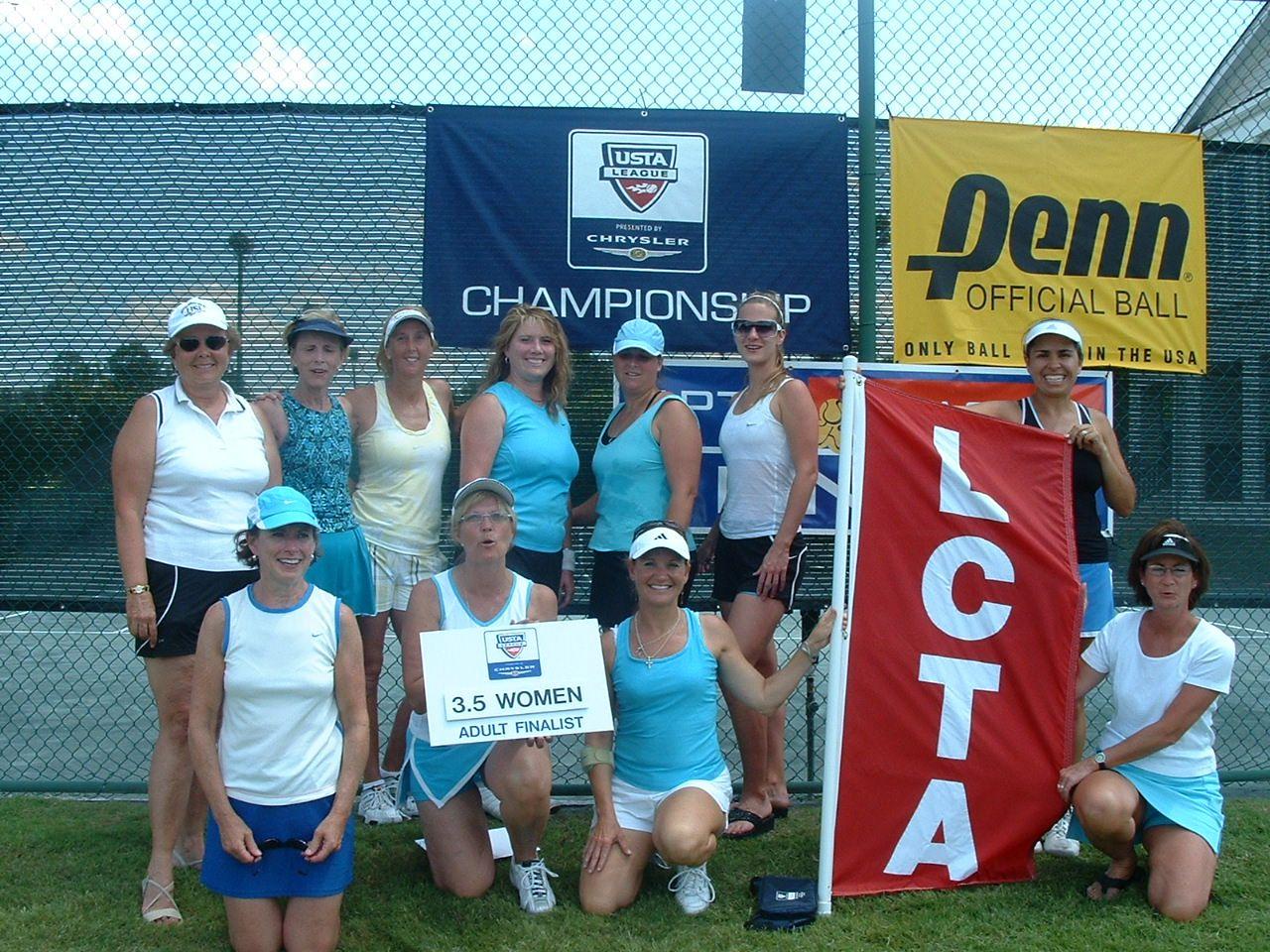 2007 Adult Champs 3.5 W Finalist