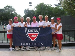 07 Southern Sectiona Sr Women's 3.0 Champs