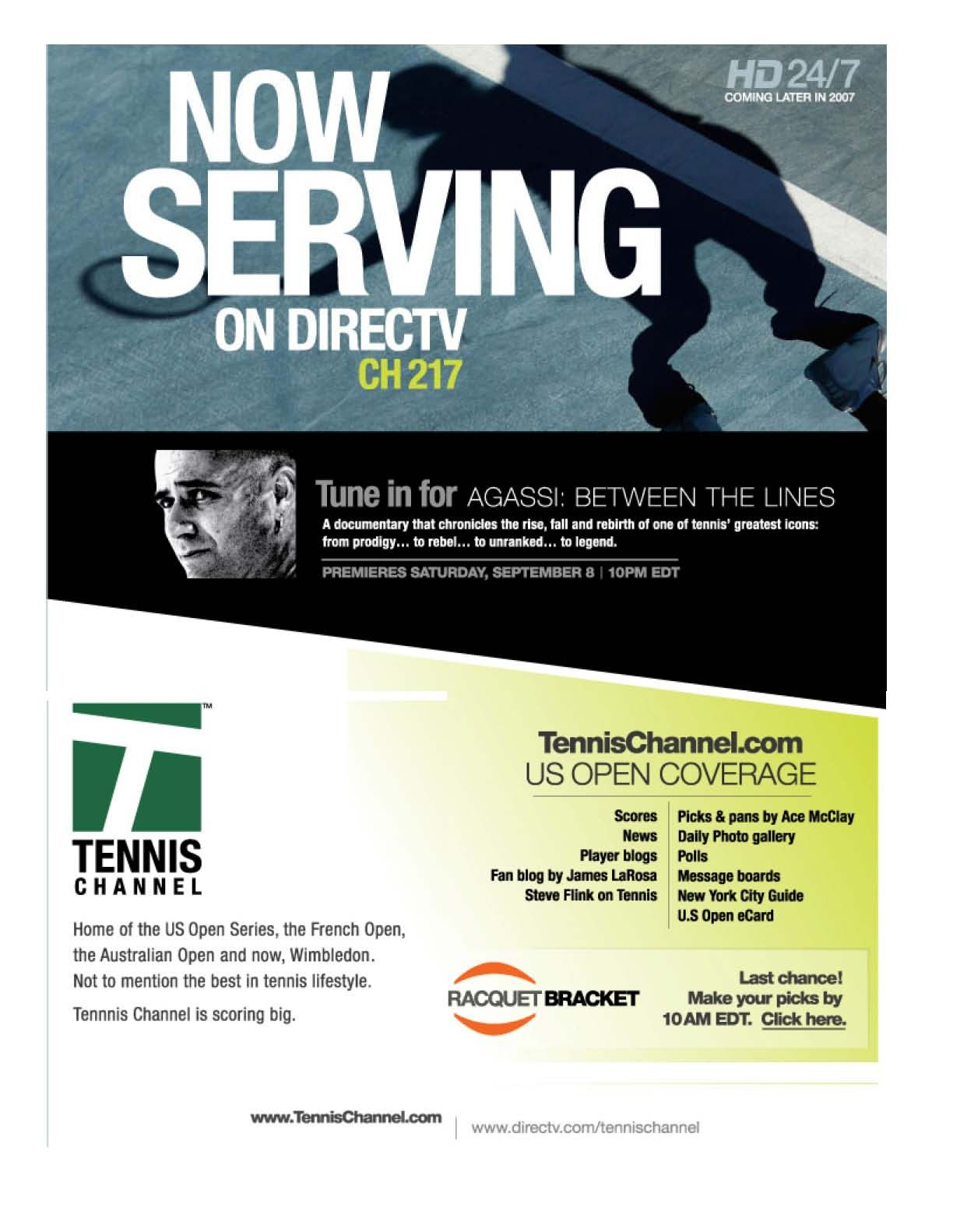 Tennis Channel Agassi