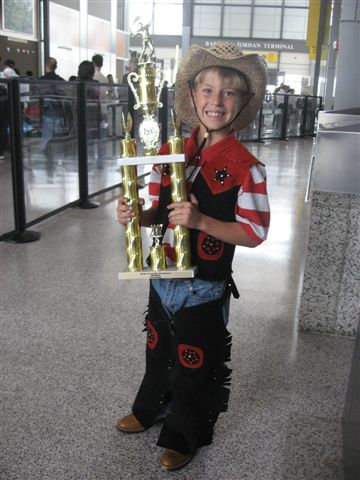 Little Mo Champ Spencer Brown