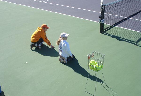 ball kid training