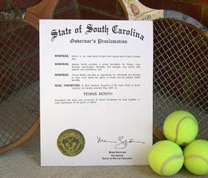 Tennis Month