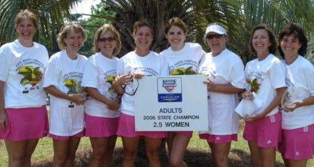 2006 USTA SC Women's 2.5 Champion