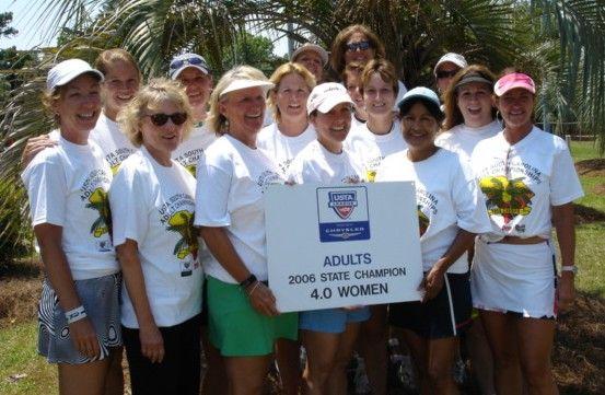 2006 Women's 4.0 Champions
