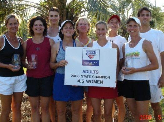 2006 USTA SC Women's 4.5 Champion