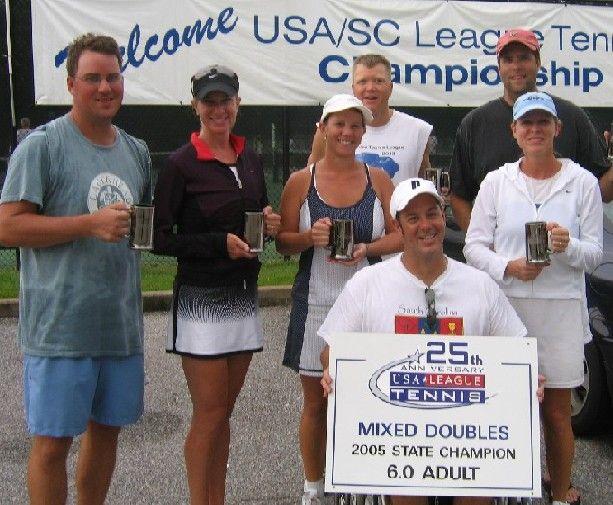 Capt. Bob Masella - USTA Mixed Doubles League - Sept., 2005