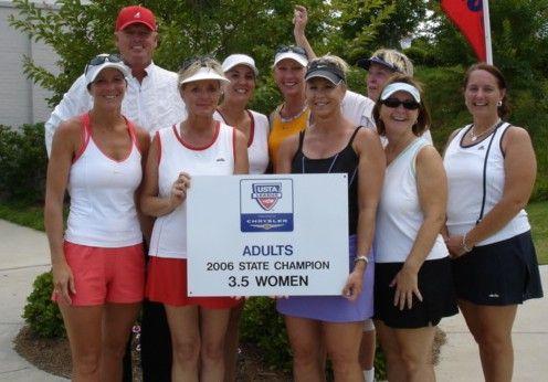 SC Women's 3.5 USTA Adult League Champs - GSTL