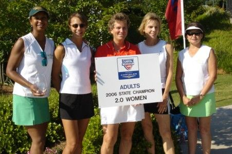 SC Women's 2.0 USTA League State Champs - UPTA I