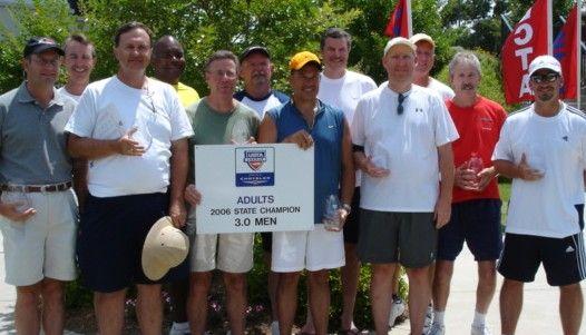 SC Men's 3.0 USTA League State Champs - PeeDee