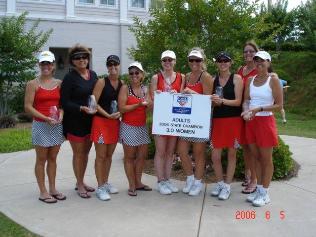 SC 3.0 Women USTA League Champs - LCTA I