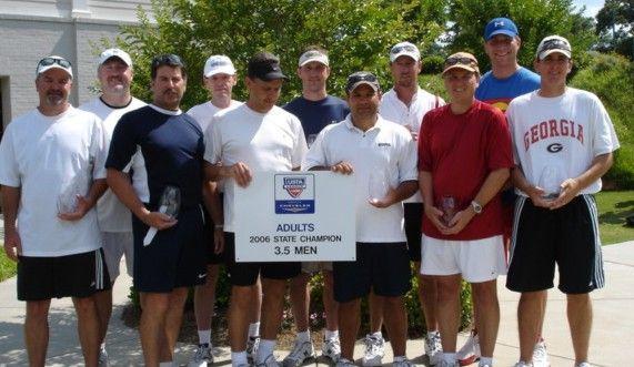 SC 3.5 Men USTA Adult League Champs - LATA
