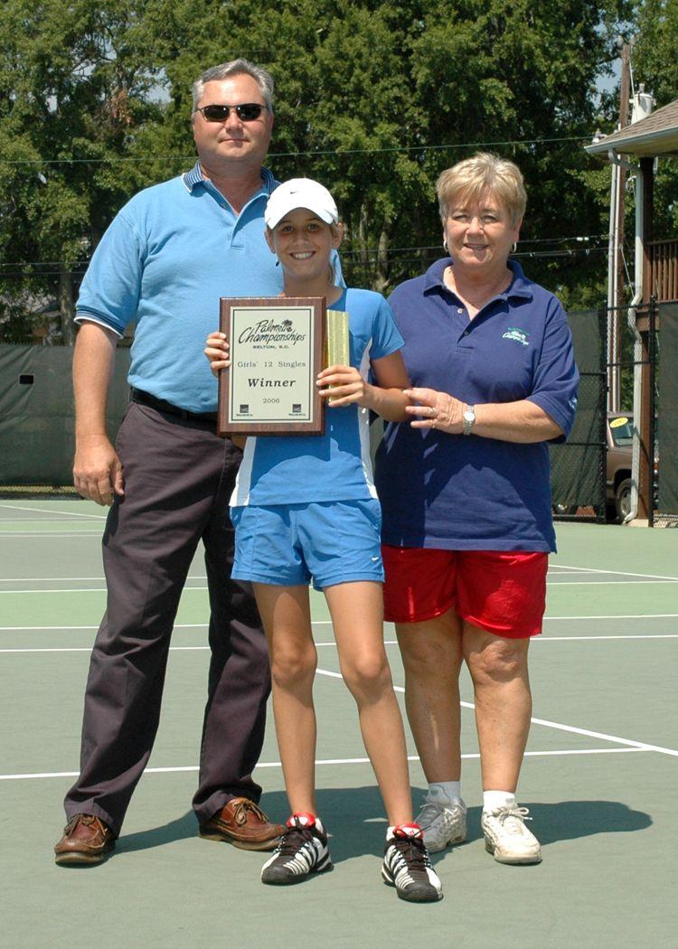 G12 Winner Haley Carter - Wachovia Championships 2006