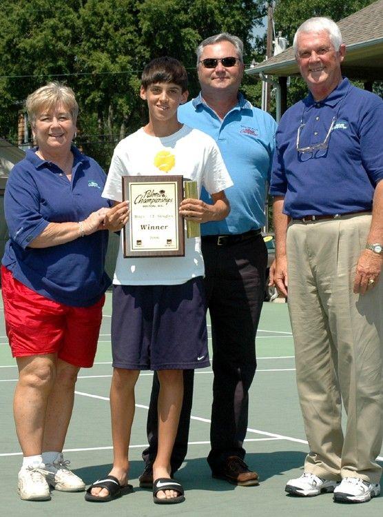 B12 Winner Jacob Behal - 2006 Wachovia Championships