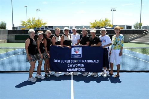 Tucson 7.0 Super Senior Ladies Team Wins National Title!