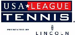USA League Tennis logo